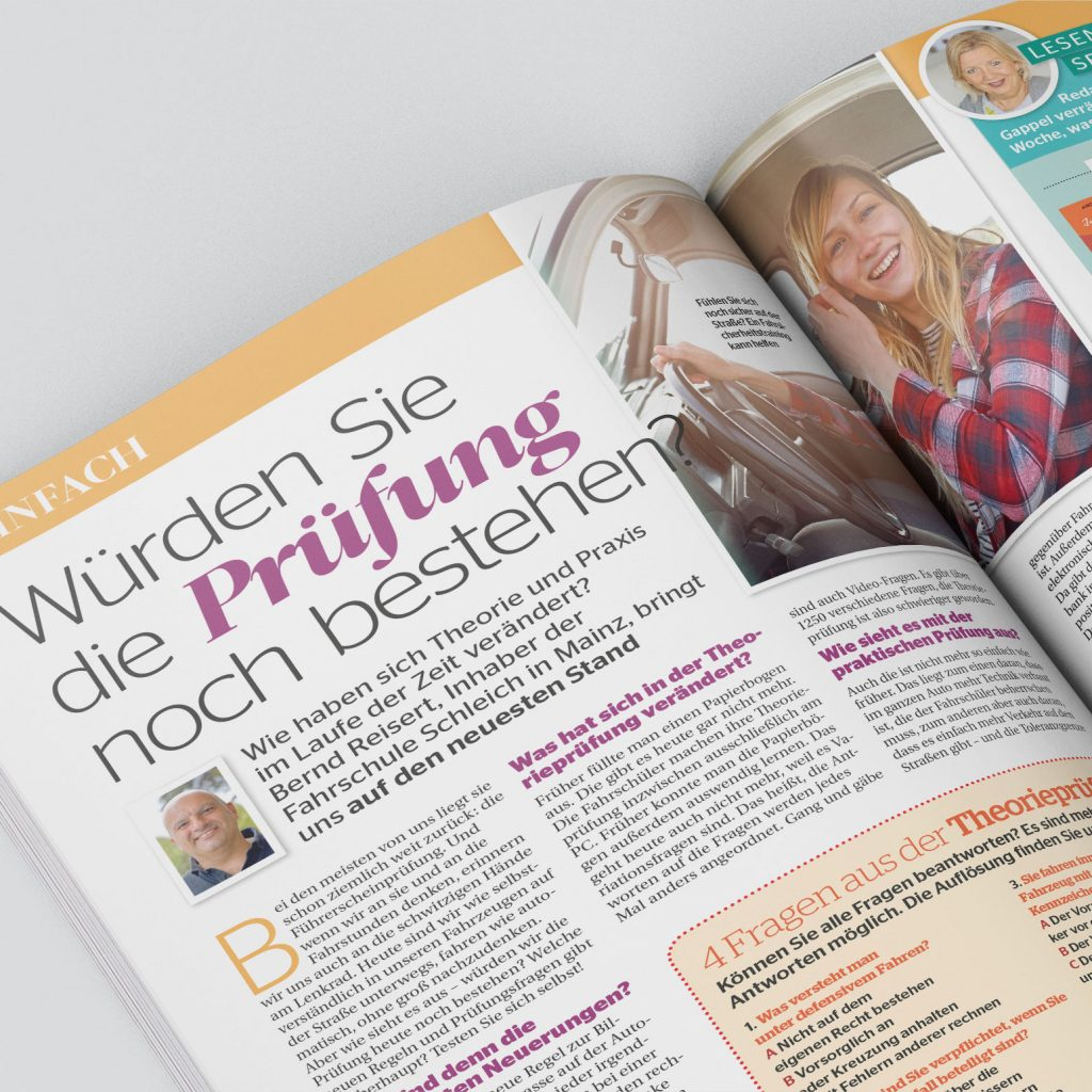 Interview in Bella Ausgabe (Nr. 8 - 14.02.2018)